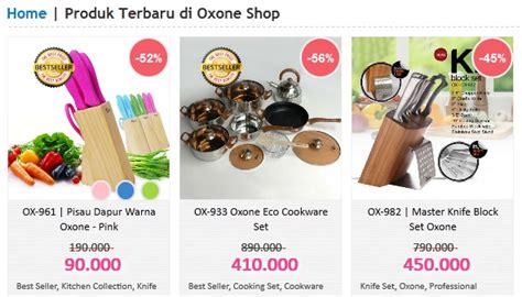 Oxone Asli lengkapi dapur dengan koleksi produk oxone shop