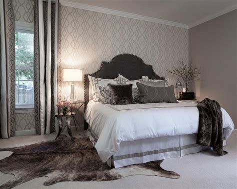 grey wallpaper master bedroom master bedroom master bedrooms on pinterest headboards