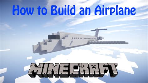 How Do You Make A Airplane Out Of Paper - how to build an airplane in minecraft md 80