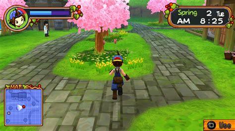 emuparadise harvest moon psp harvest moon hero of leaf valley usa iso