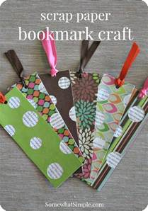 Sew Home Decor bookmark craft for kids amp a book review somewhat simple