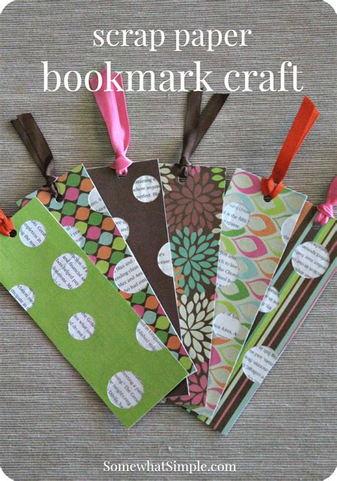 Paper Craft Bookmarks - bookmark craft for a book review somewhat simple