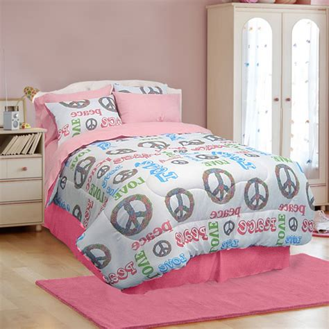 peace bedding veratex peace and microfiber bed in a bag bedding set