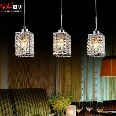 Discount Modern Square Led Chandeliers Dining