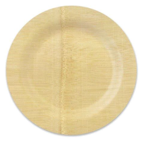 bamboo plates bambu 060800 11 quot disposable bamboo plate 25 pack
