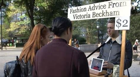 Would You Trust A Mirror For Fashion Advice by What They Really Really Want Beckham Smashes