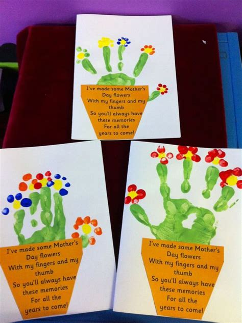 mothers day cards make ideas for mothers day crafts for and plants on