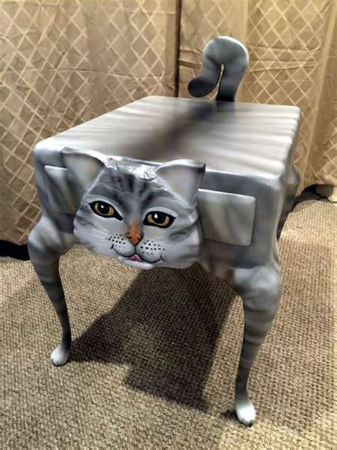 cat table cat people here s your florida furniture find of the day