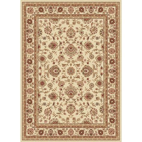 area rug 7 x 9 ivory traditional area rug 7 6 x 9 10