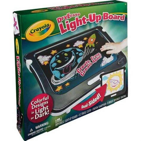 crayola light up board crayola 174 dry erase light up board birthday gifts for mo