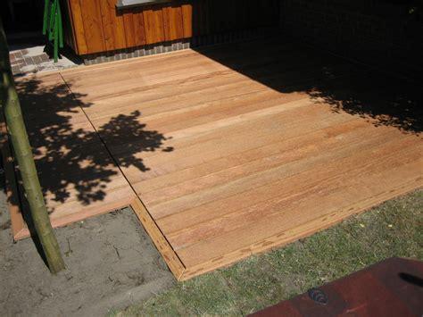 Terrasse Bauen Holz 5385 by Wesbuer Beispiele Terrassen