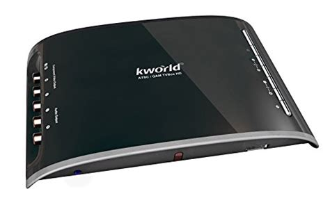 Tv Tuner Di Hitech Mall kworld hdmi dvi vga qam atsc external digital tv tuner box
