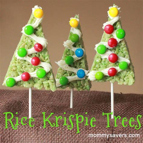 christmas rice krispy treats mommysavers