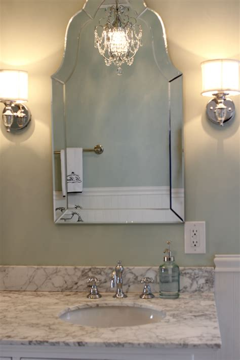 arched bathroom mirror allen roth hovan arch frameless mirror traditional