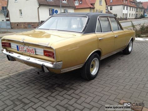1970 opel commodore 1970 opel commodore a limo servo h plates car photo and