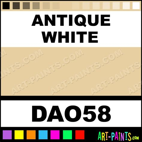 antique white americana acrylic paints dao58 antique white paint antique white color