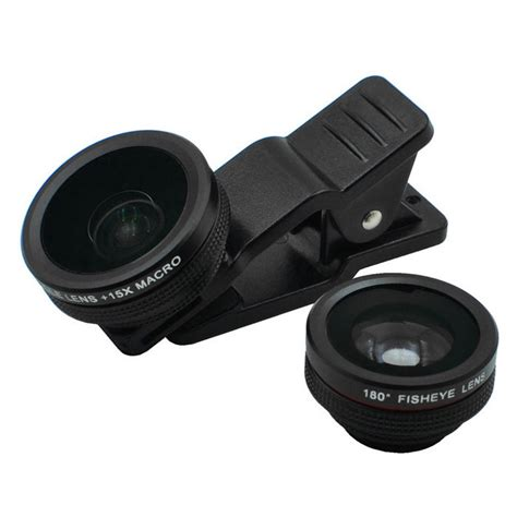 Grosir Lensa Superwide 3in1 Universal 0 35x wide angle fish eye 15x macro lens