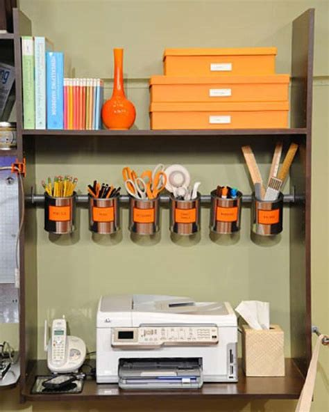 Creative On A Shelf by 15 Easy To Do And Creative Ways To Organize An Office 10