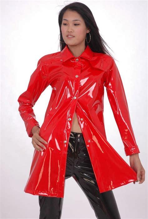 pvc vinyl trench coats 54 best vintage pvc raincoats images on pinterest pvc