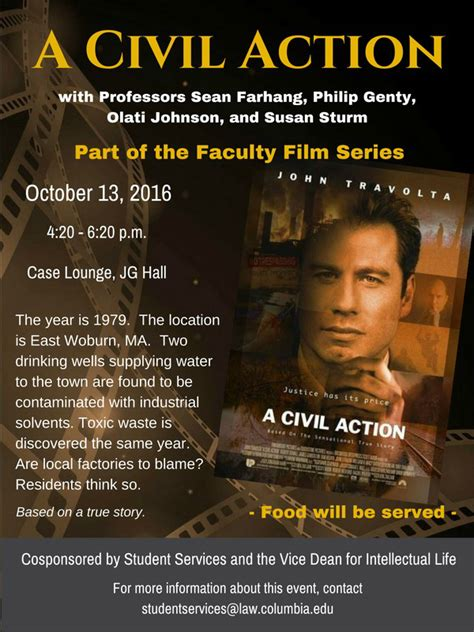 a civil action film questions faculty film series a civil action columbia law school