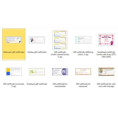 word document certificate template gift certificate template word document