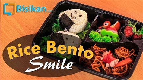 tutorial membuat nasi uduk tutorial membuat nasi bento karakter lucu dan unik untuk anak
