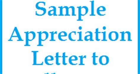 appreciation letter to nursery appreciation messages and letters sle appreciation