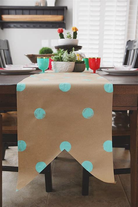 craft paper table runner craft paper table runner 28 images craft paper table