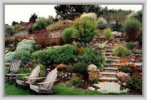 Landscaping Ideas For Sloped Backyard Backyard Landscaping Ideas Sloped Yard Outdoor Furniture Design And Ideas