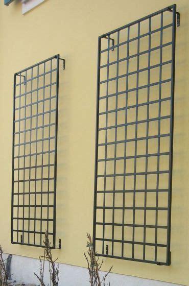 Metal Trellis Panel Metal Wall Mount Trellis Exterior Improvements