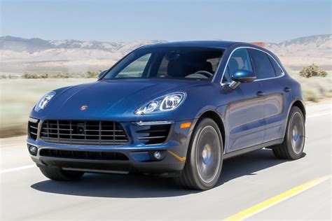 blue porsche 2016 2016 porsche macan s receive an update to become faster