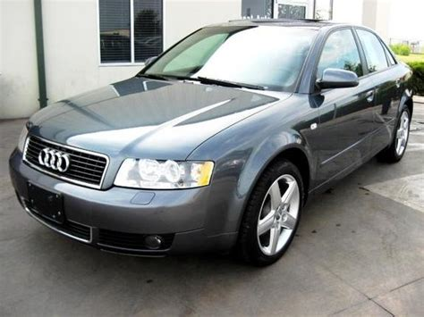 2005 audi a4 gray 200 interior and exterior images