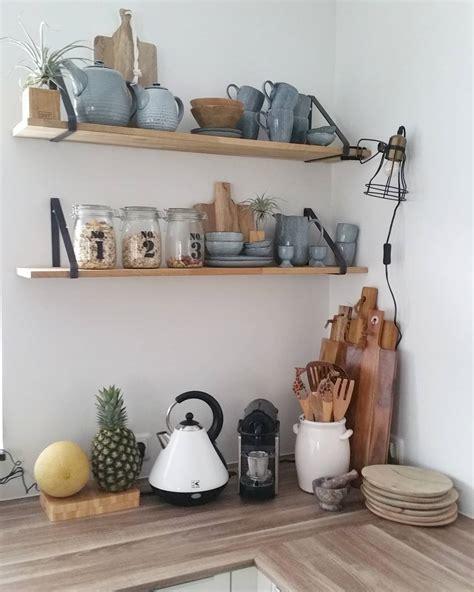 Rak Kayu Tempat Bumbu Dapur rak dinding dapur desainrumahid