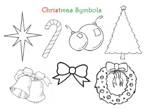 coloring pictures of christmas symbols christmas symbols sharing time