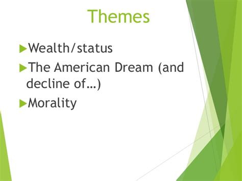 theme of decay in the great gatsby great gatsby intro notes