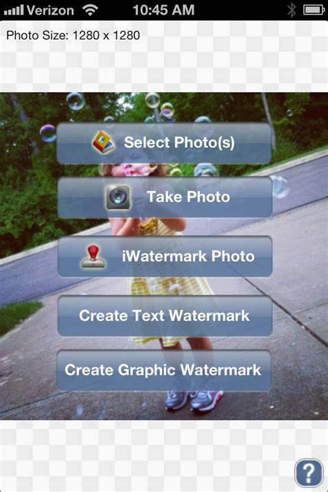 add  custom watermark   instagram