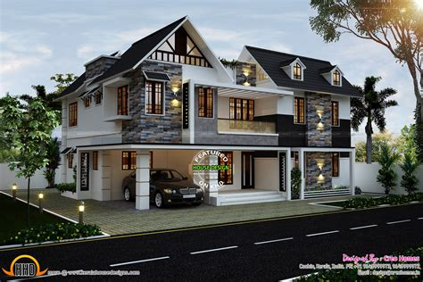 cute home cute home in kerala kerala home design and floor plans