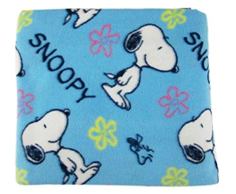 Snoopy Character With Blanket by Peanuts Throw Blankets