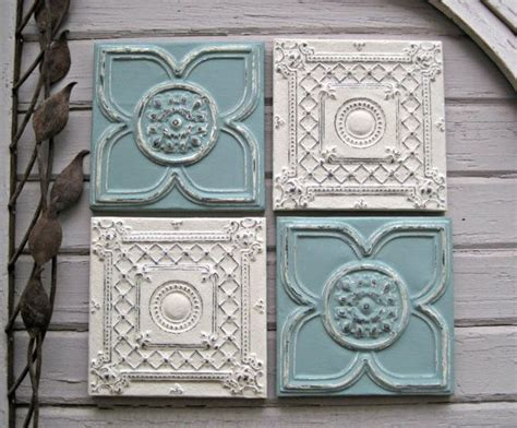 Tin Ceiling Tiles On Walls by 79 Best Images About Antique Ceiling Tins In Blues On
