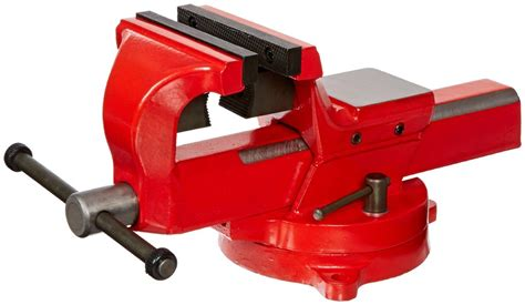 forged bench vise yost vises fsv 6 6 quot heavy duty forged steel bench vise