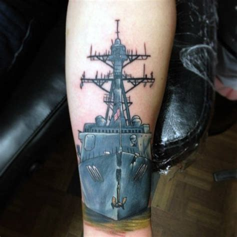 70 navy tattoos for usn ink design ideas