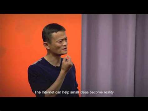 alibaba youtube alibaba founder jack ma ideas technology can change the