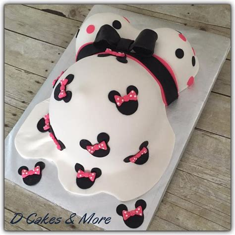 Minnie Mouse Baby Shower Cake by Best 25 Minnie Mouse Cake Decorations Ideas On