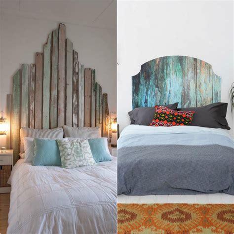 tete de lit planche t 234 te de lit bois flott 233 une d 233 coration romantique qui