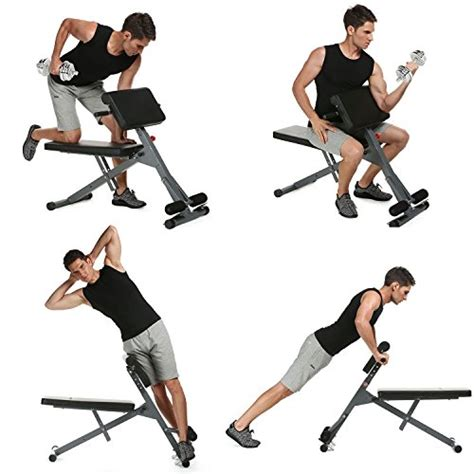 hyperextension multi bench adjustable back roman chair hyperextension gym exercise ab