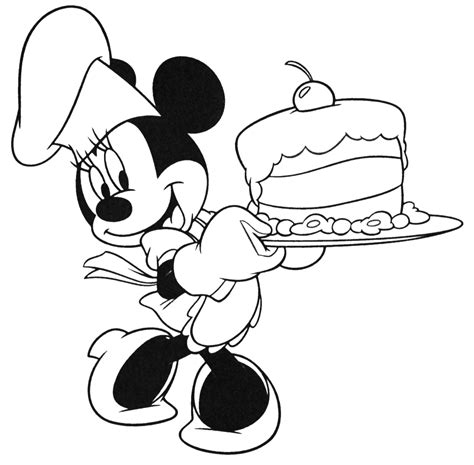 disney coloring pages minnie character birthday