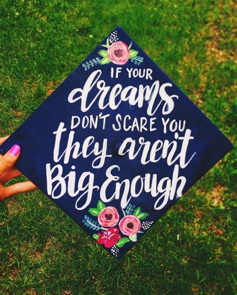 graduation hat the creative den painted graduation cap by chera creative instagram