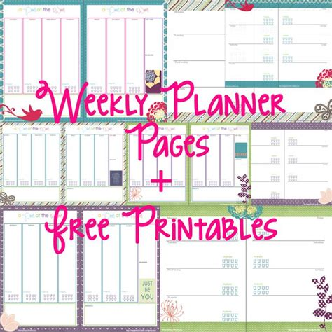 free printable happy planner pages 17 best ideas about weekly planner printable on pinterest