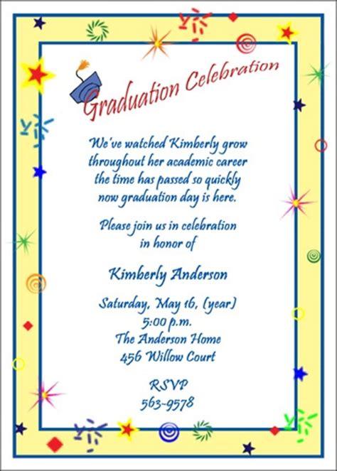 exle high school graduation invitation wording read about embellishing your graduation invitations