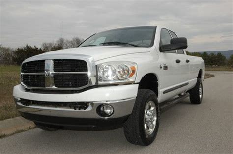 how to fix cars 2007 dodge ram 2500 engine control purchase used one owner 2007 dodge ram 2500 big horn 4wd quad diesel automatic in farmington